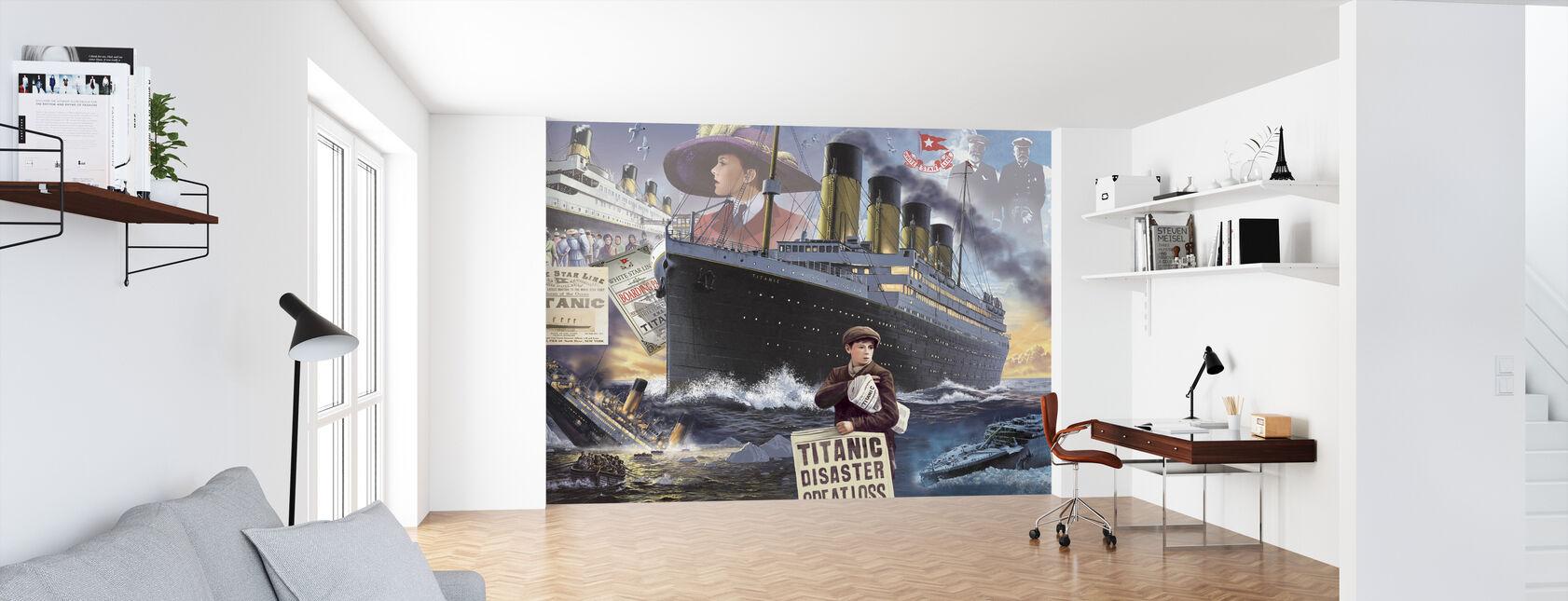Titanic - Landskap - Tapet - Kontor