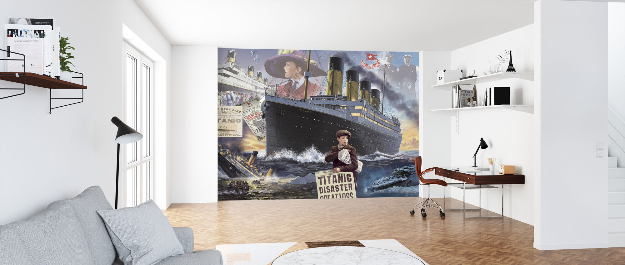 Titanic - Maisema - Tapetti - Toimisto