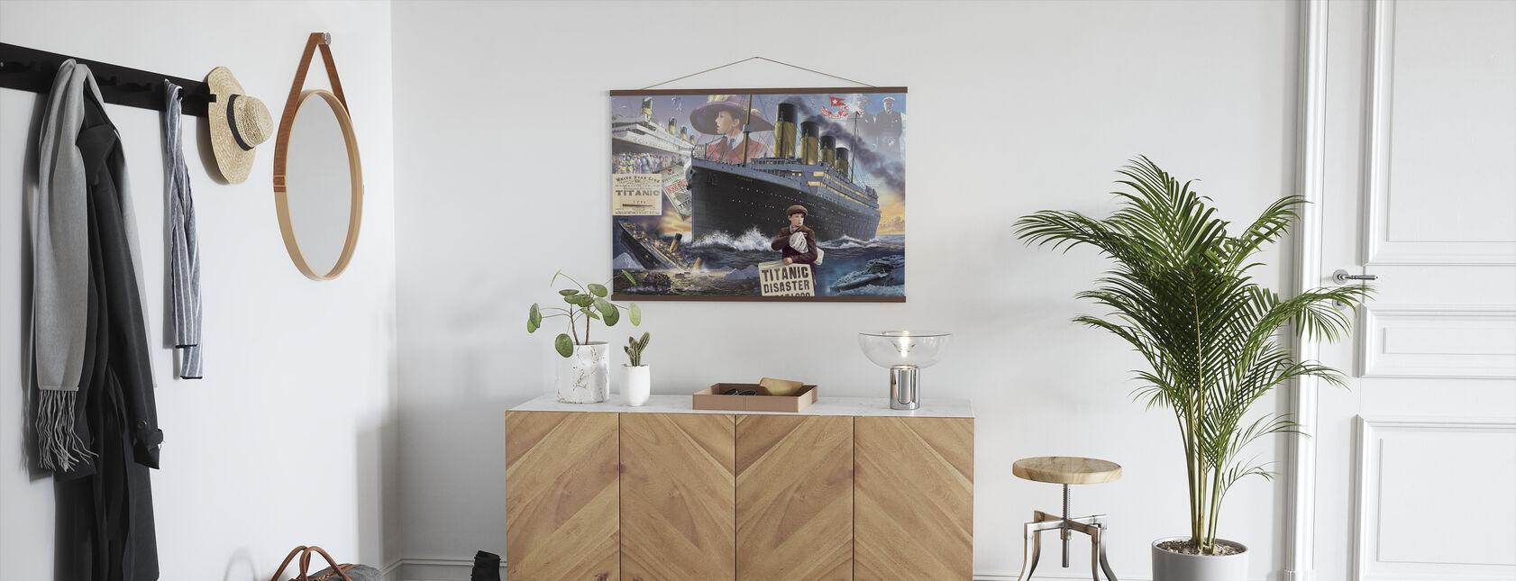 Titanic - Landskap - Poster - Hall