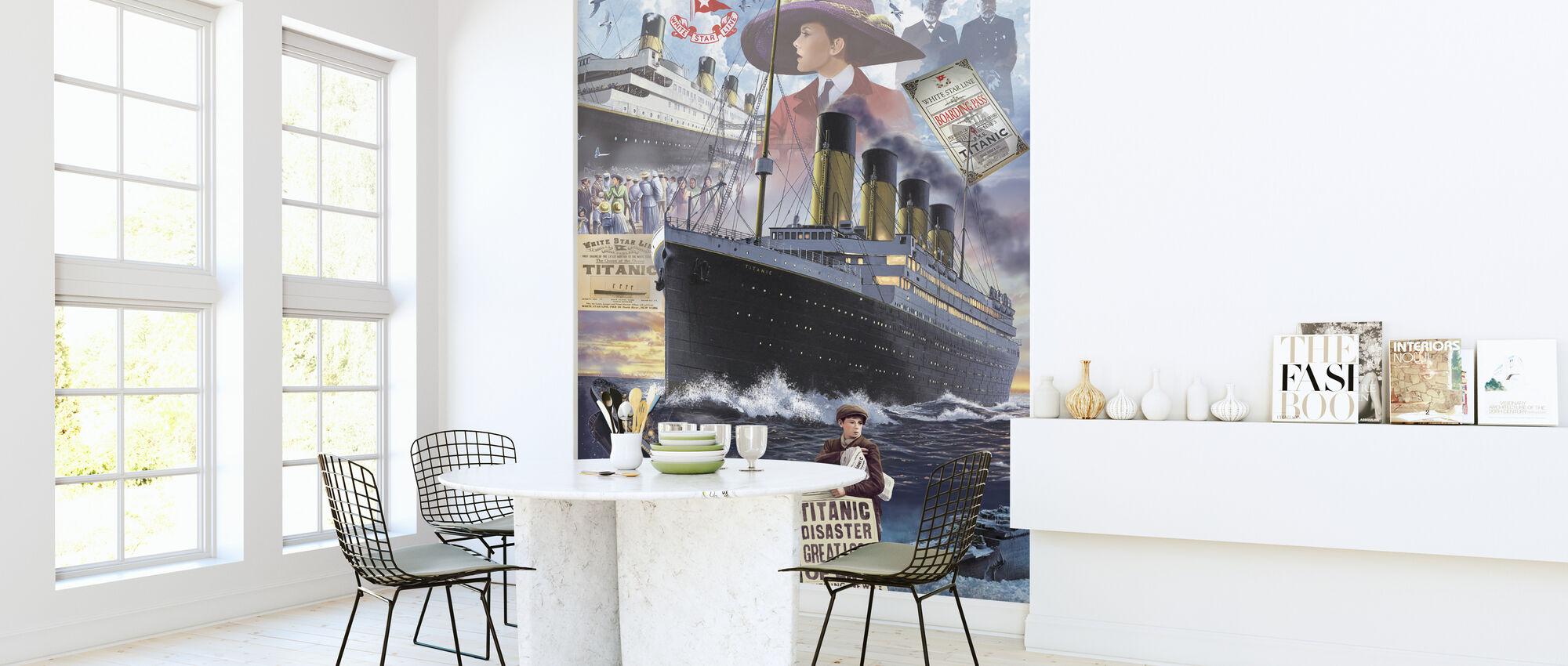 Titanic - Porträtt - Tapet - Kök
