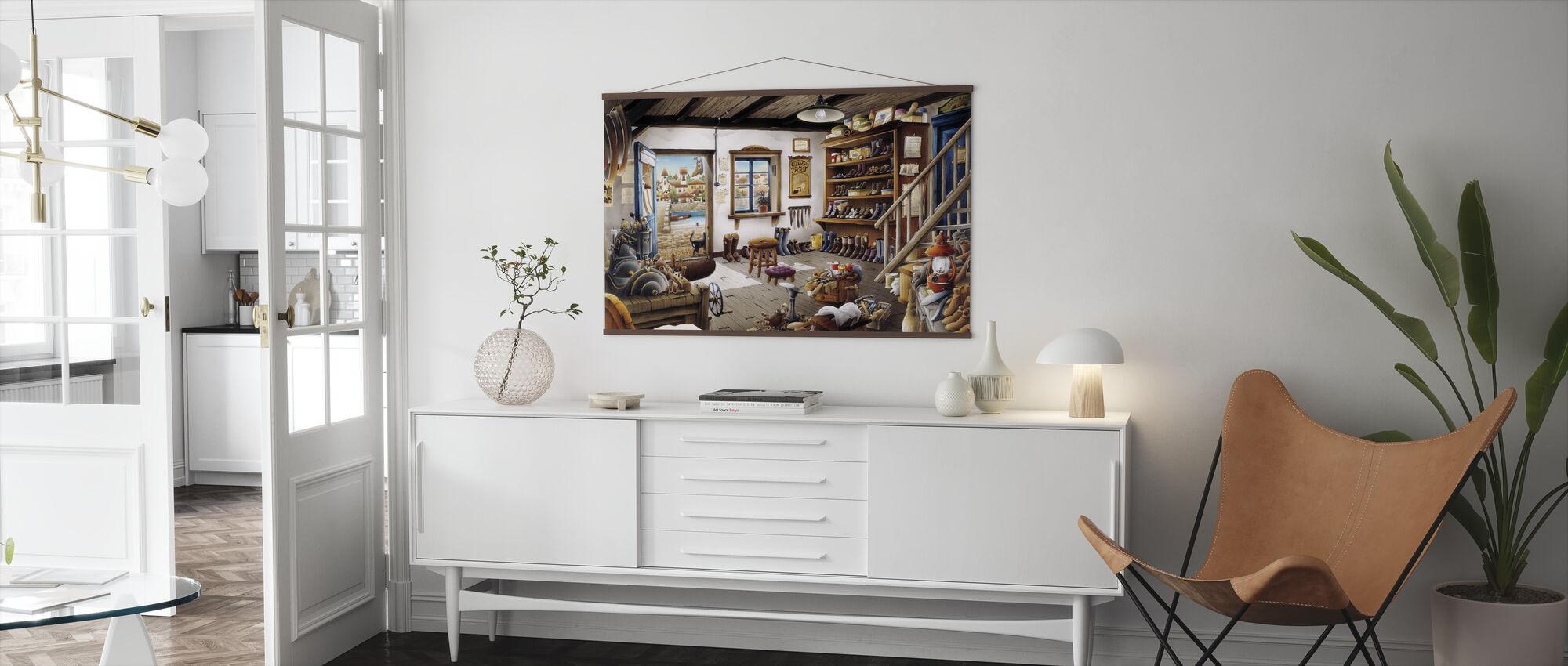 The Cobbler Shop - Poster - Living Room