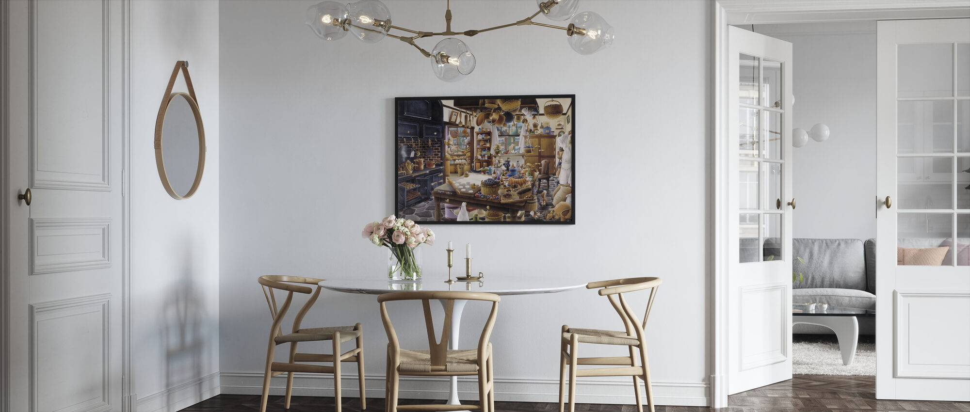 The Bakery - Framed print - Kitchen