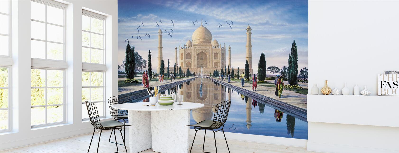 Taj Mahal - Tapet - Kök