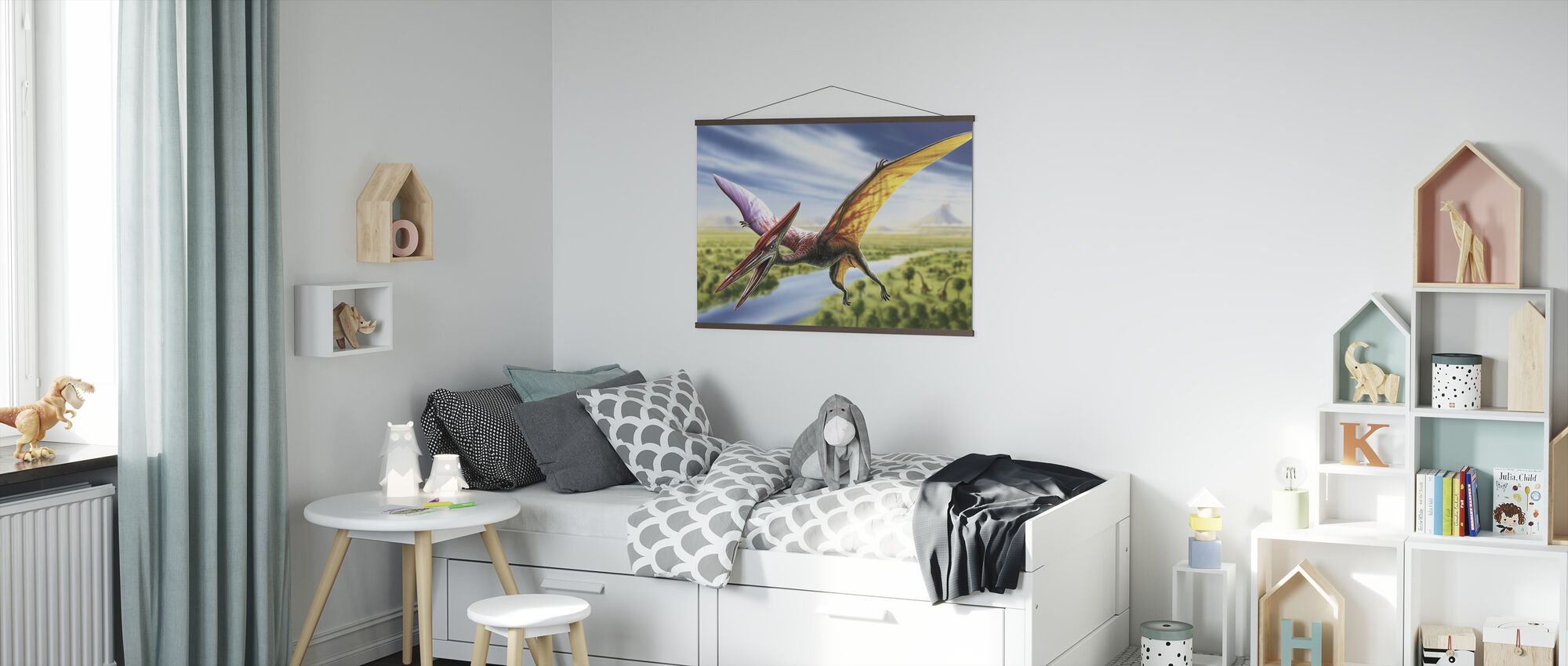 Pterodactyl - Poster - Kids Room