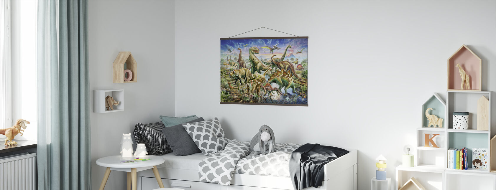 Dinoscene - Poster - Kids Room
