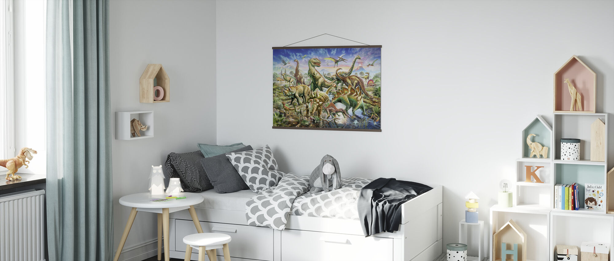 Dinoscene - Poster - Kids Room