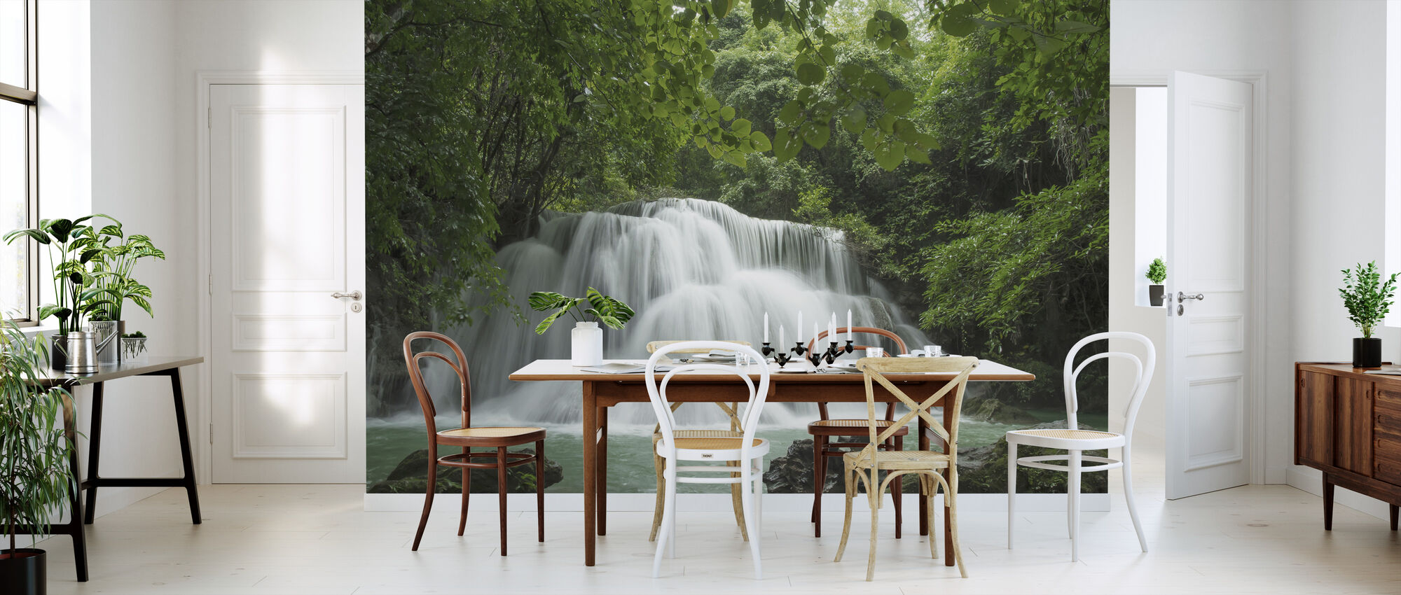 Beautiful Waterfall in Thailand - Wallpaper - Kitchen