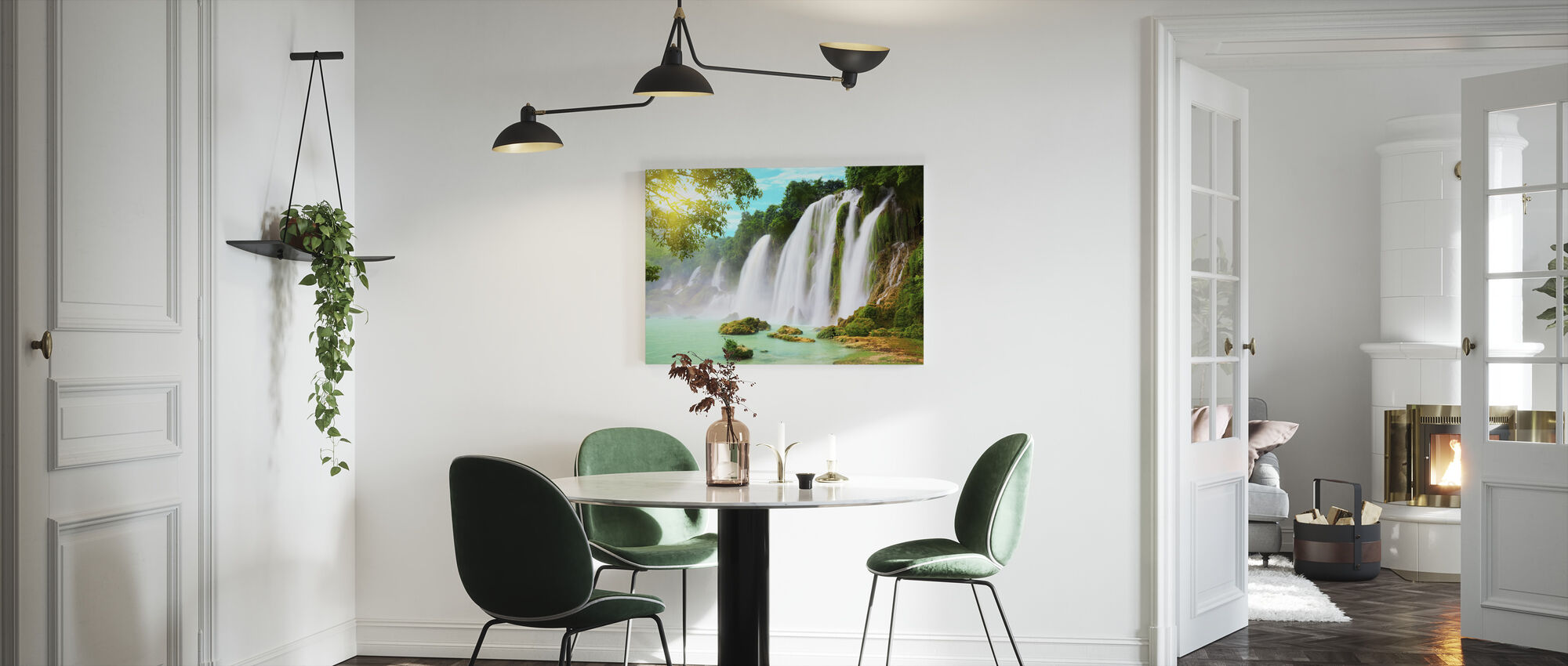 Detian Waterfall - Canvas print - Kitchen