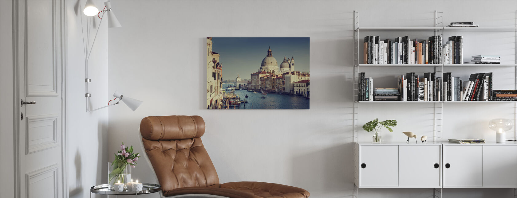 Grand Canal in Venice - Canvas print - Living Room