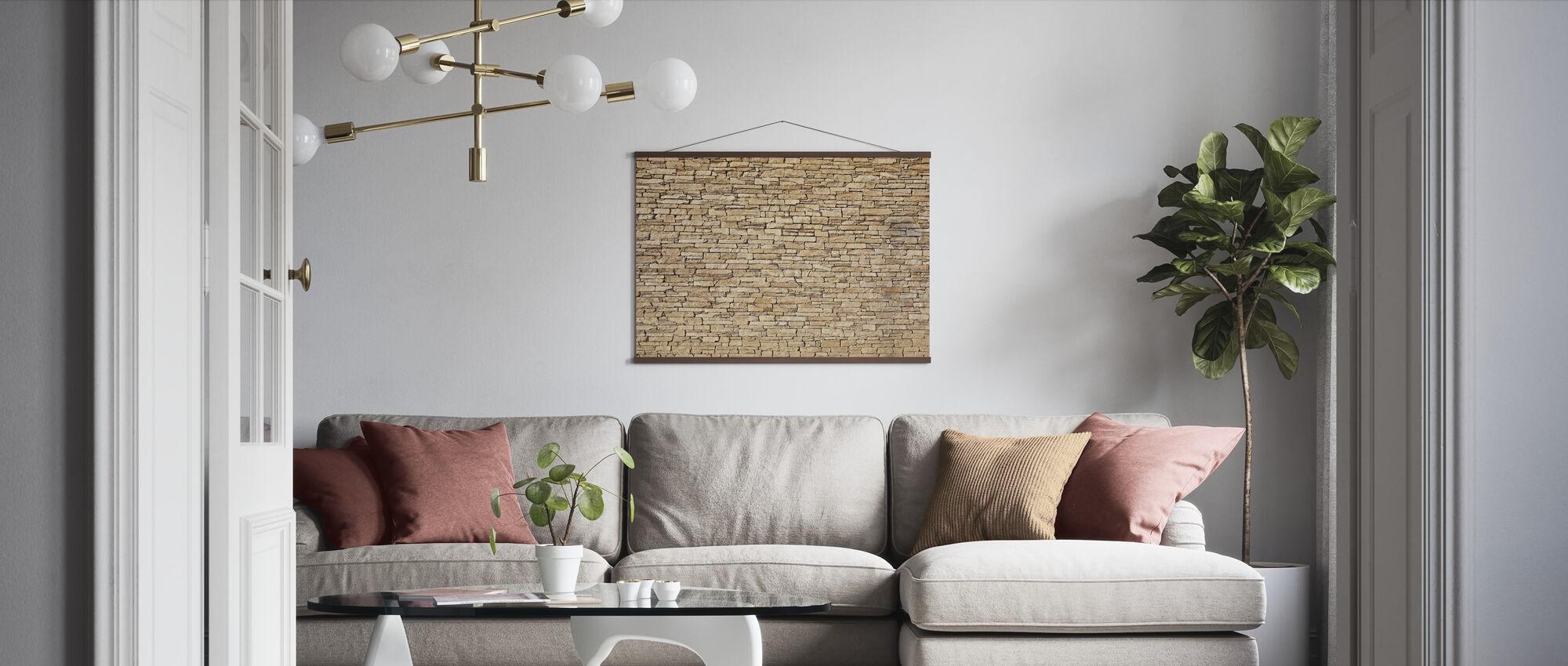 Limestone - Poster - Living Room