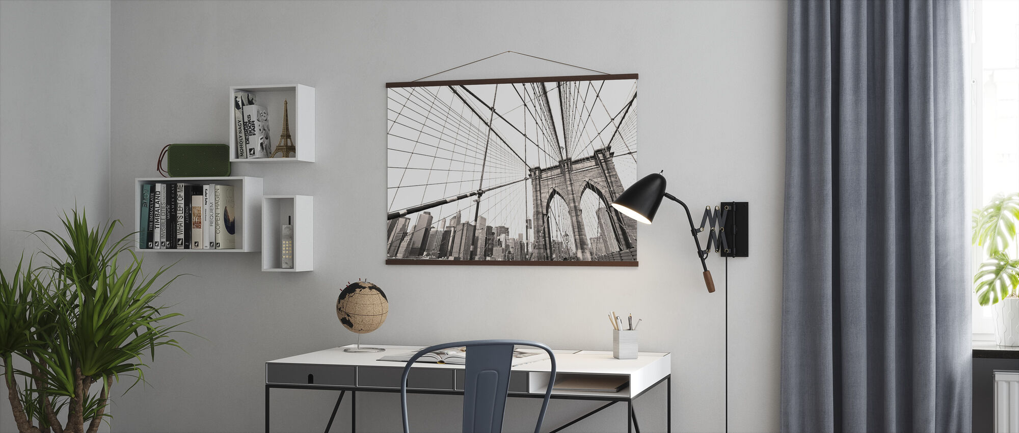 Manhattan Bridge New York - Poster - Office