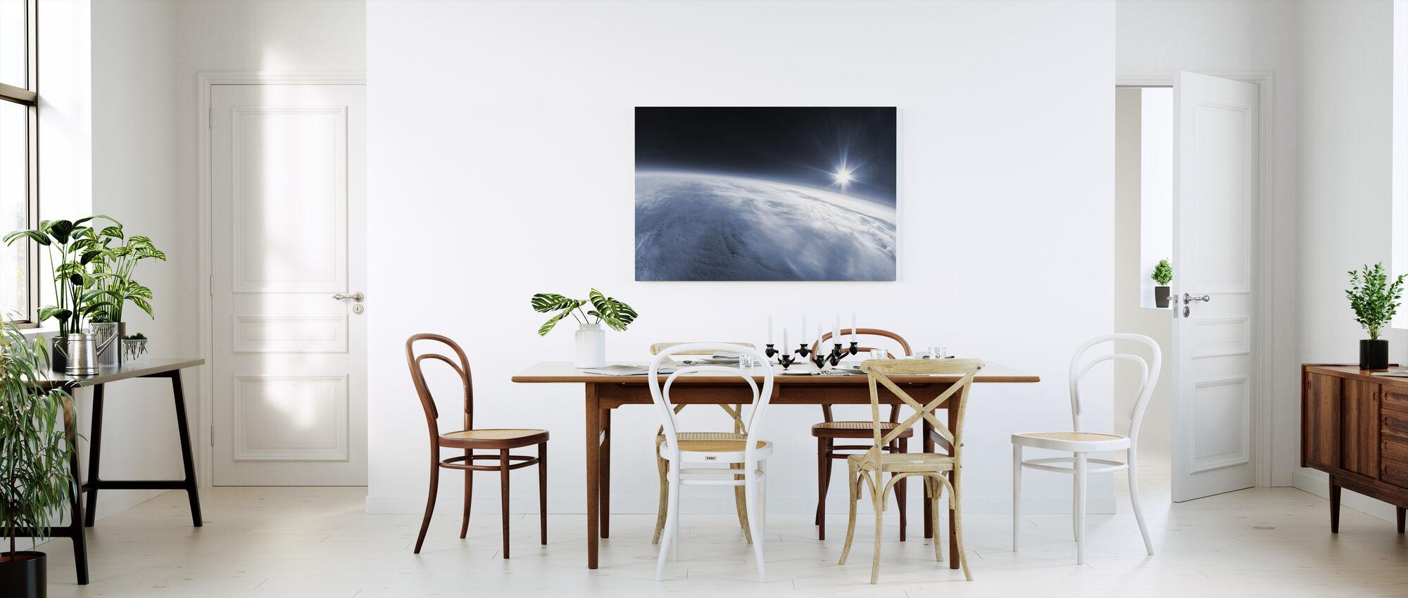 Near Space - Canvas print - Kitchen