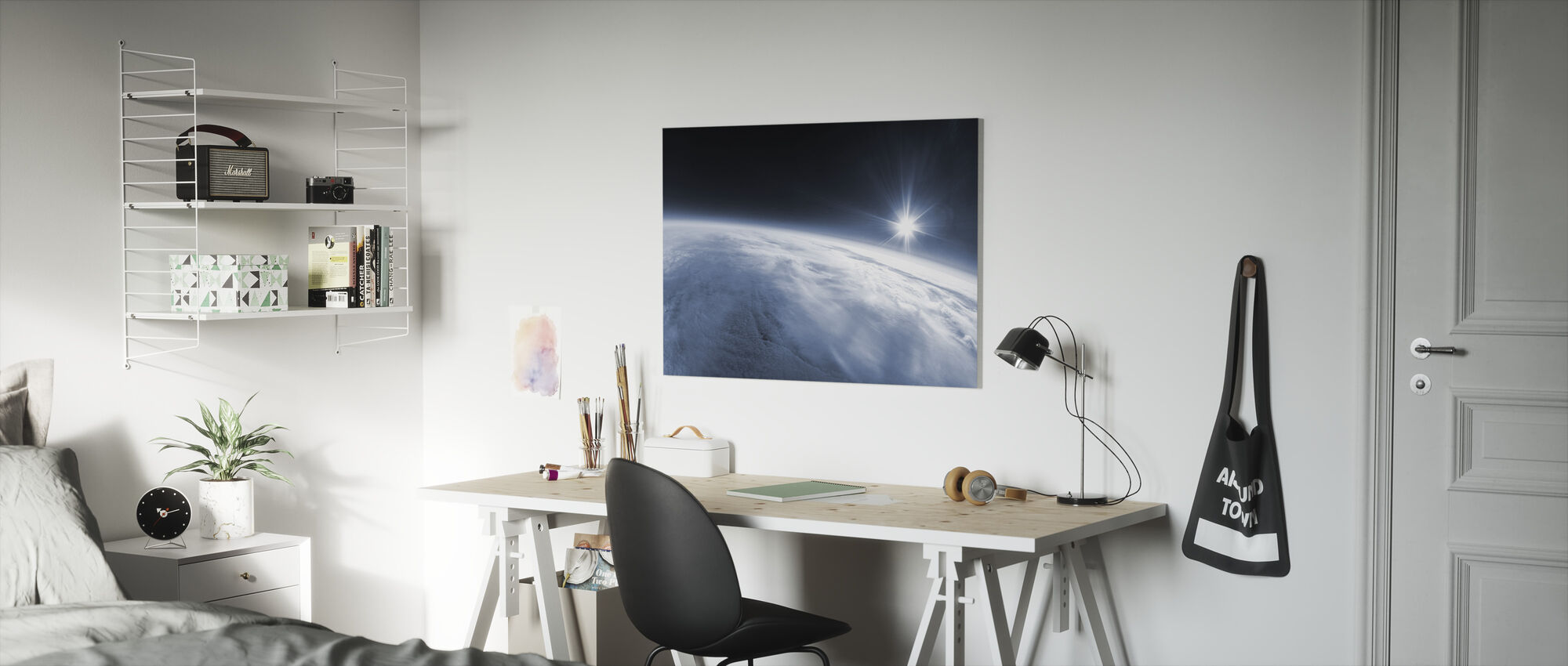 Near Space - Canvas print - Kids Room