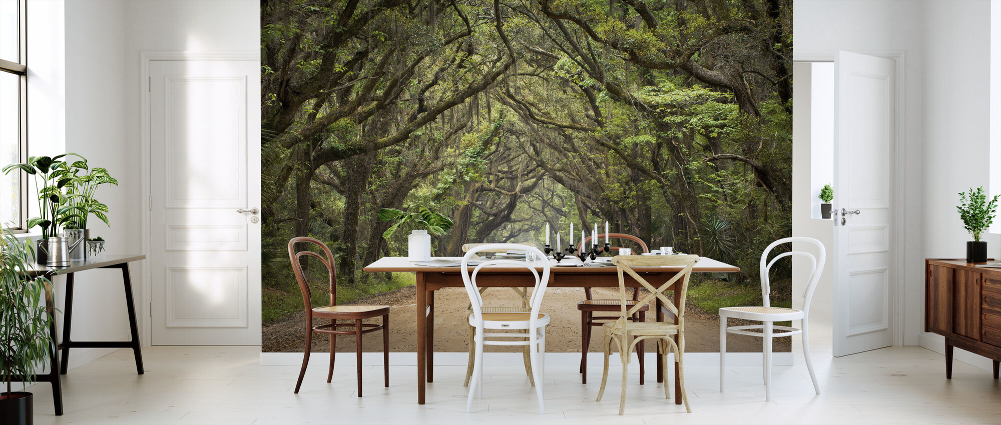 Oak Tree Road - Wallpaper - Kitchen