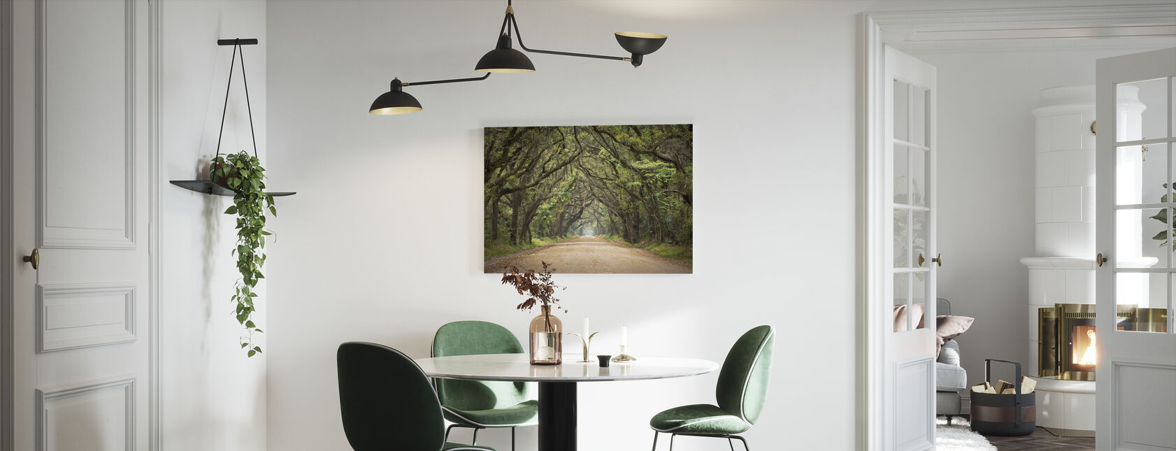 Oak Tree Road - Canvas print - Kitchen