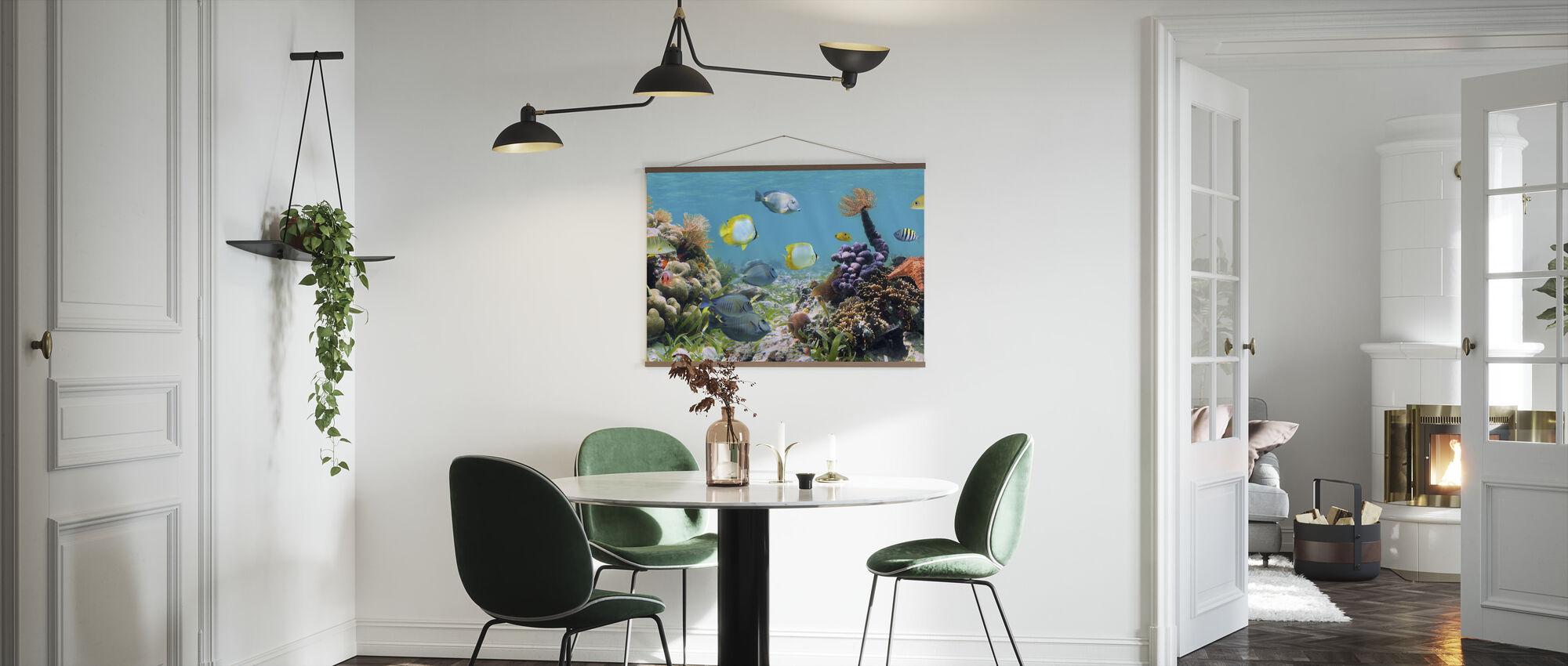 Panorama Koraalrif - Poster - Keuken