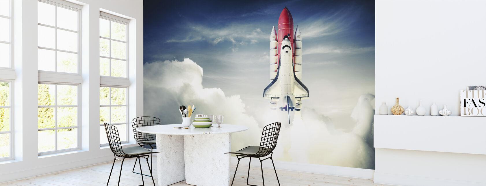 Space Shuttle - Wallpaper - Kitchen