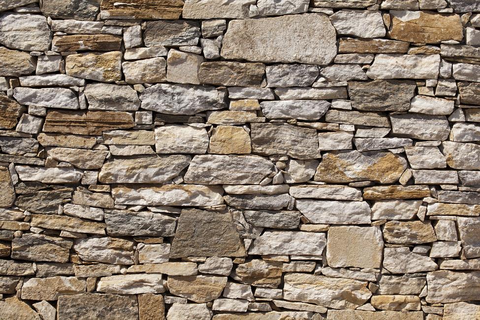 Stone Wall background Fototapeter & Tapeter 100 x 100 cm