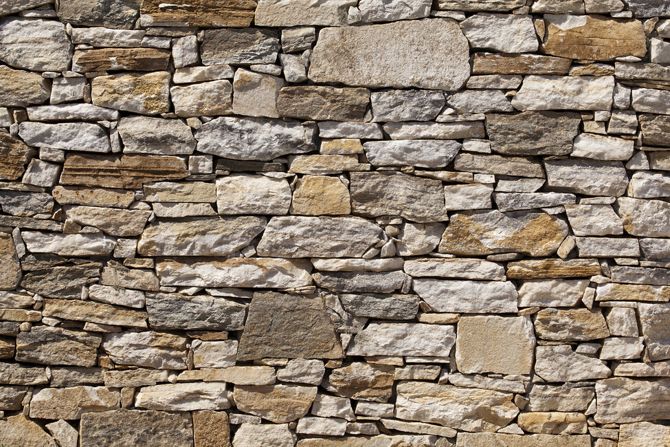 Stone wall background wall mural photo wallpaper for Wallpapered walls