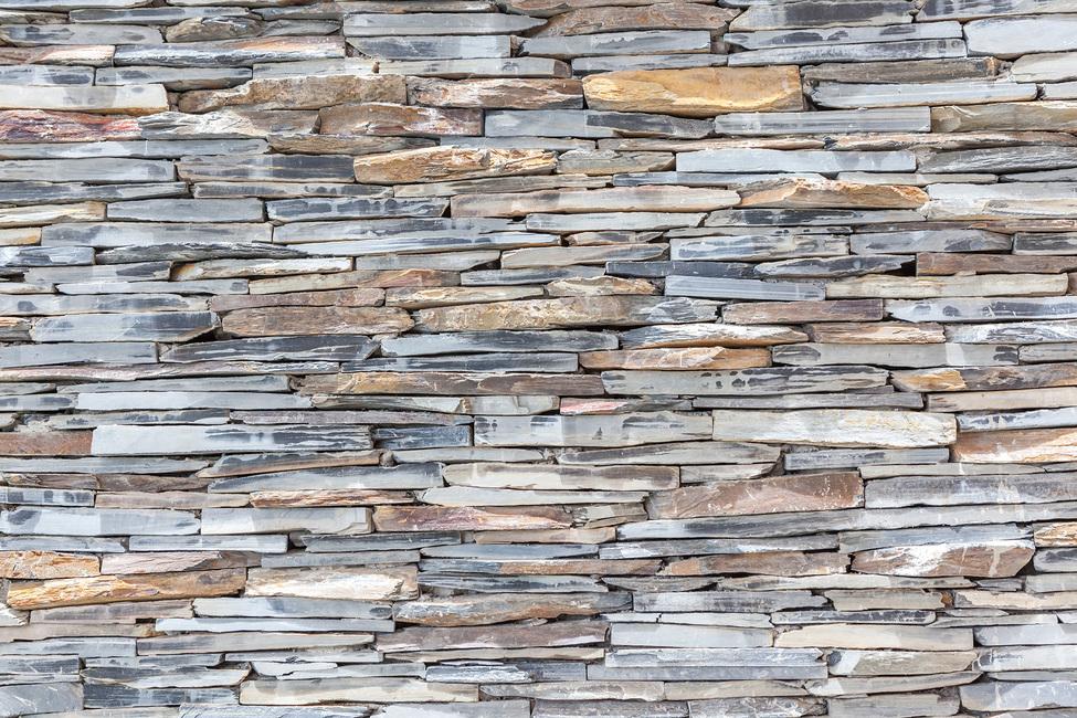 Stone Wall pastel Fototapeter & Tapeter 100 x 100 cm