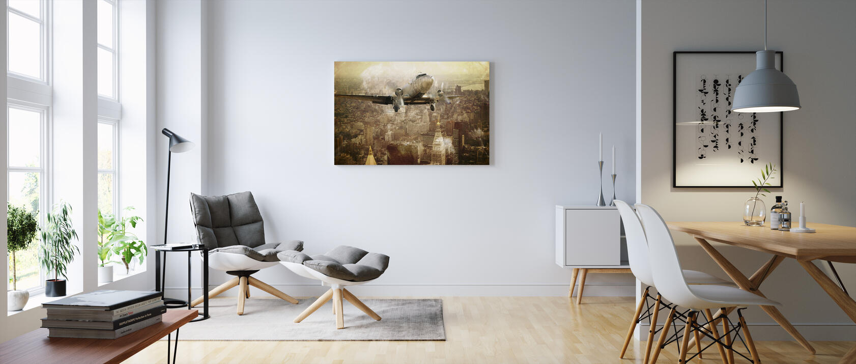 vintage flight preiswerte leinwandbilder online photowall. Black Bedroom Furniture Sets. Home Design Ideas