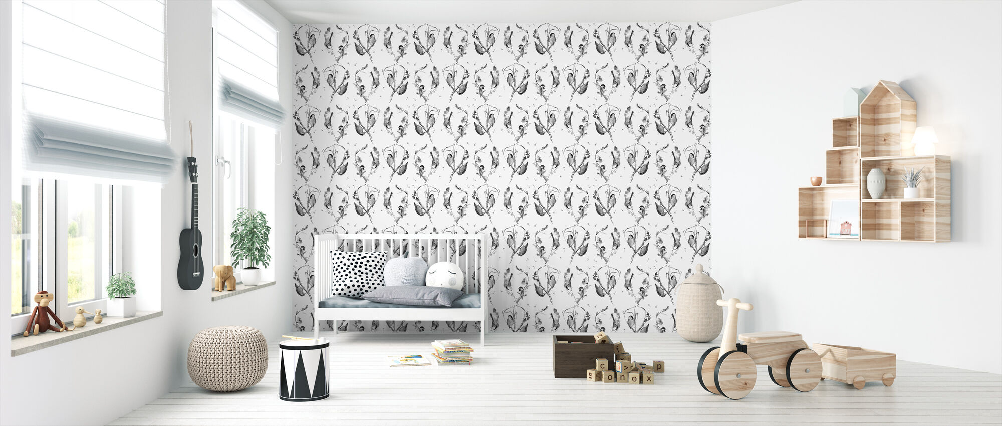 Cuckoo's Nest - Wallpaper - Nursery