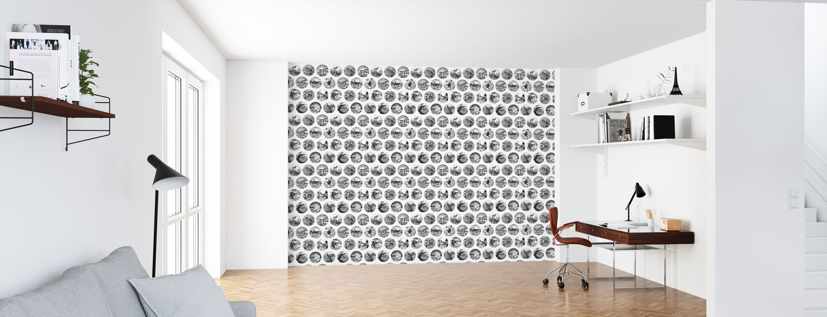 Darwin on a Plate - Wallpaper - Office