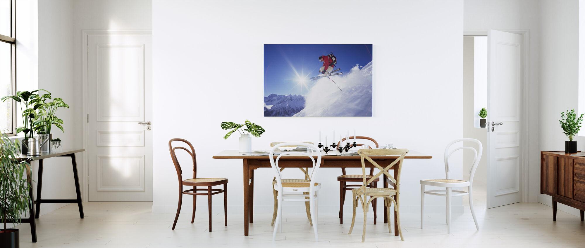 Adrenaline Skiing - Canvas print - Kitchen