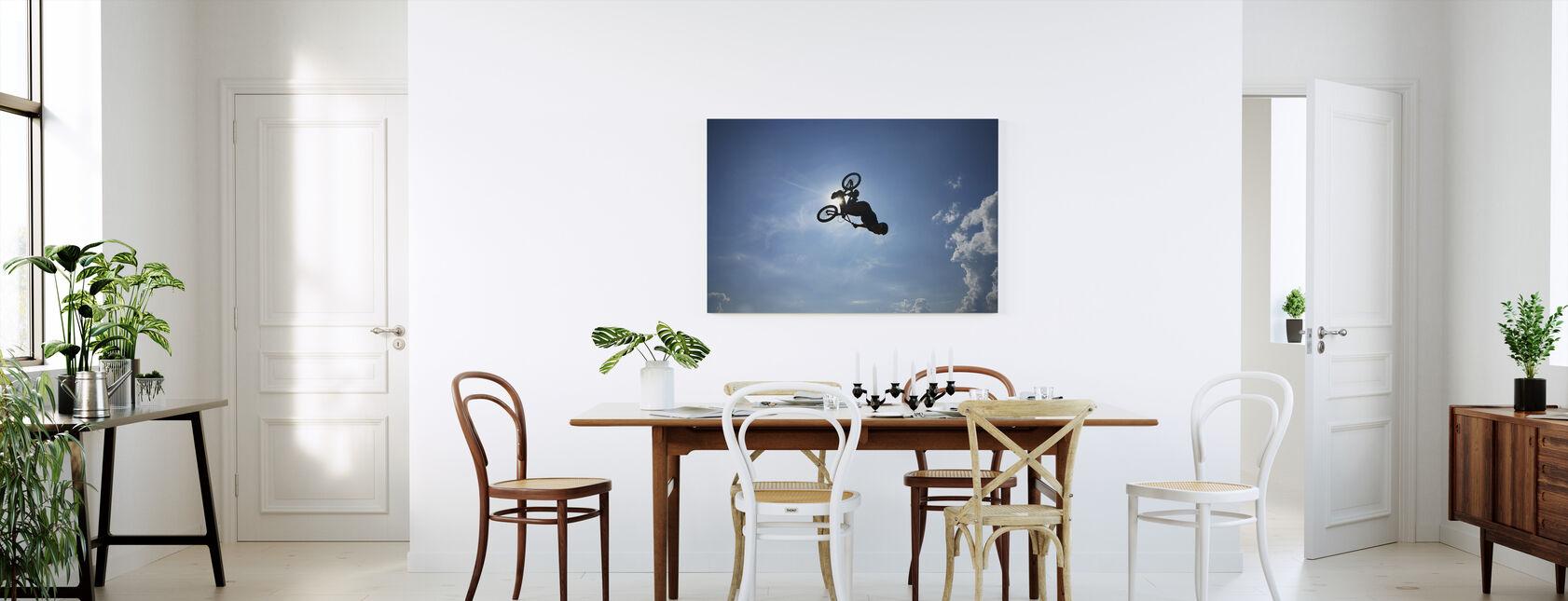 BMX Backflip - Canvas print - Kitchen