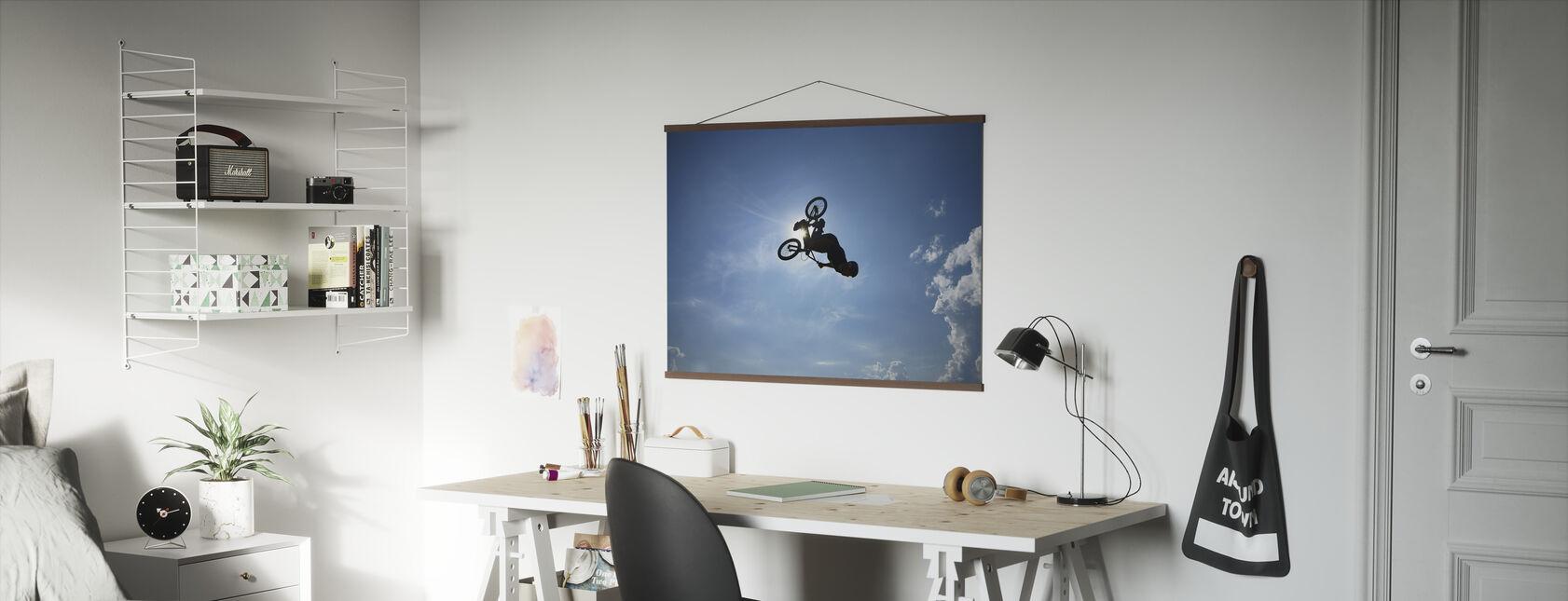 BMX Backflip - Poster - Büro