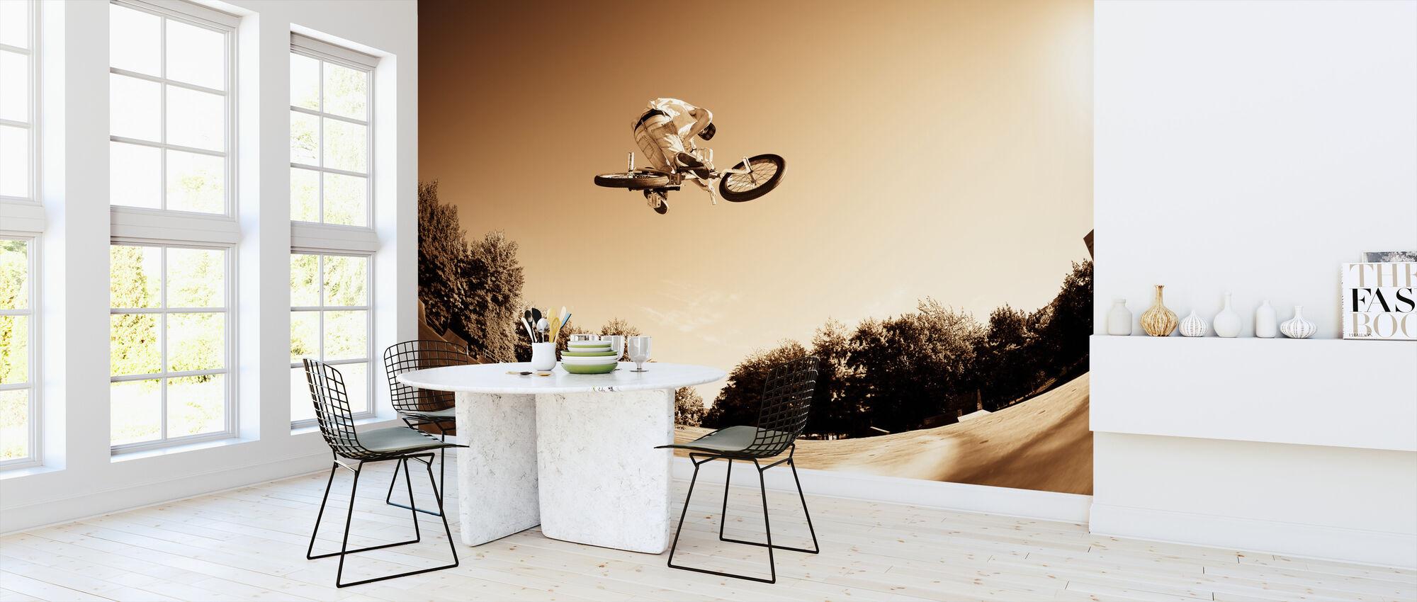 Høy BMX-hopp - Tapet - Kjøkken