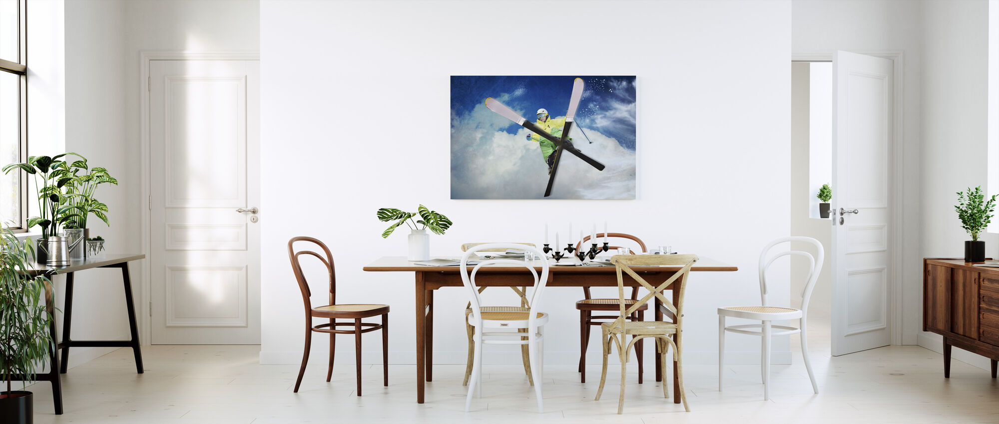 Jump - Canvas print - Kitchen