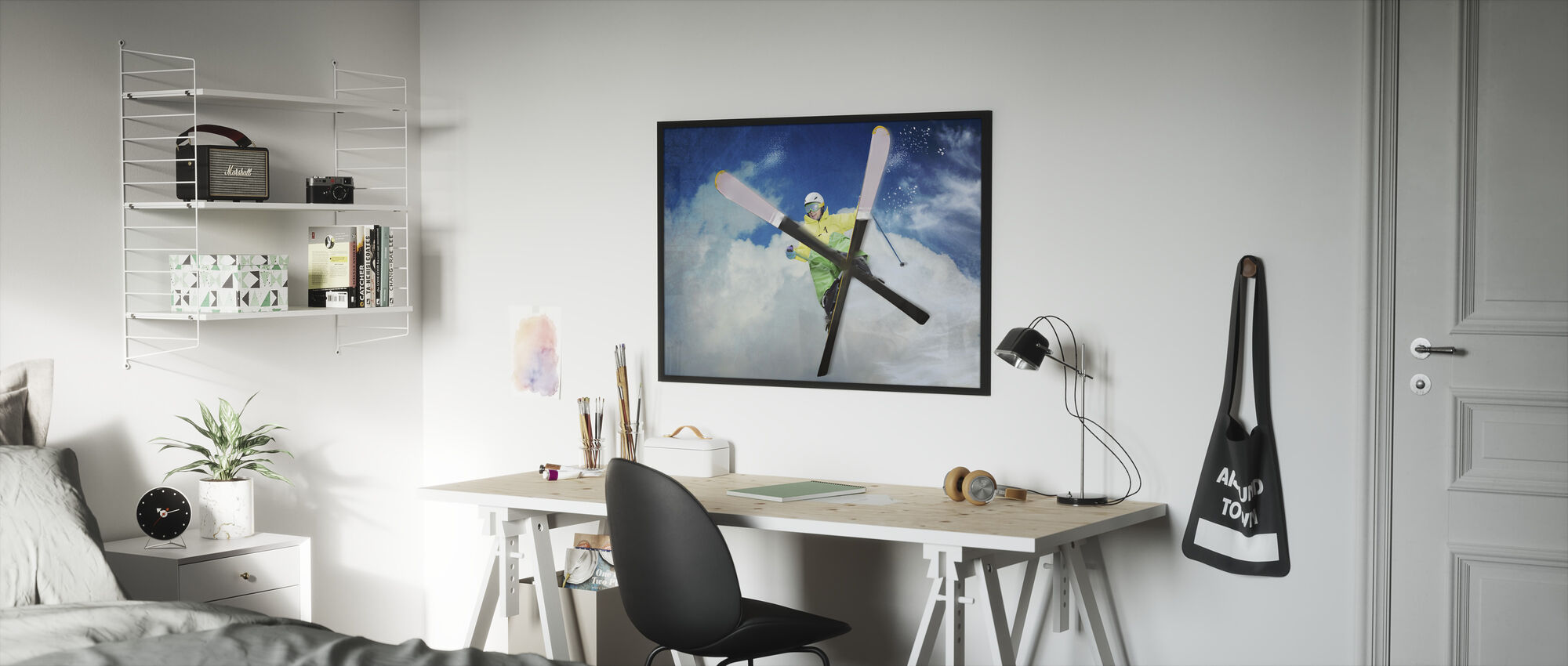Jump - Framed print - Kids Room