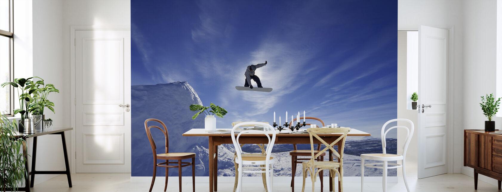 Snowboard Big Air Jump - Wallpaper - Kitchen