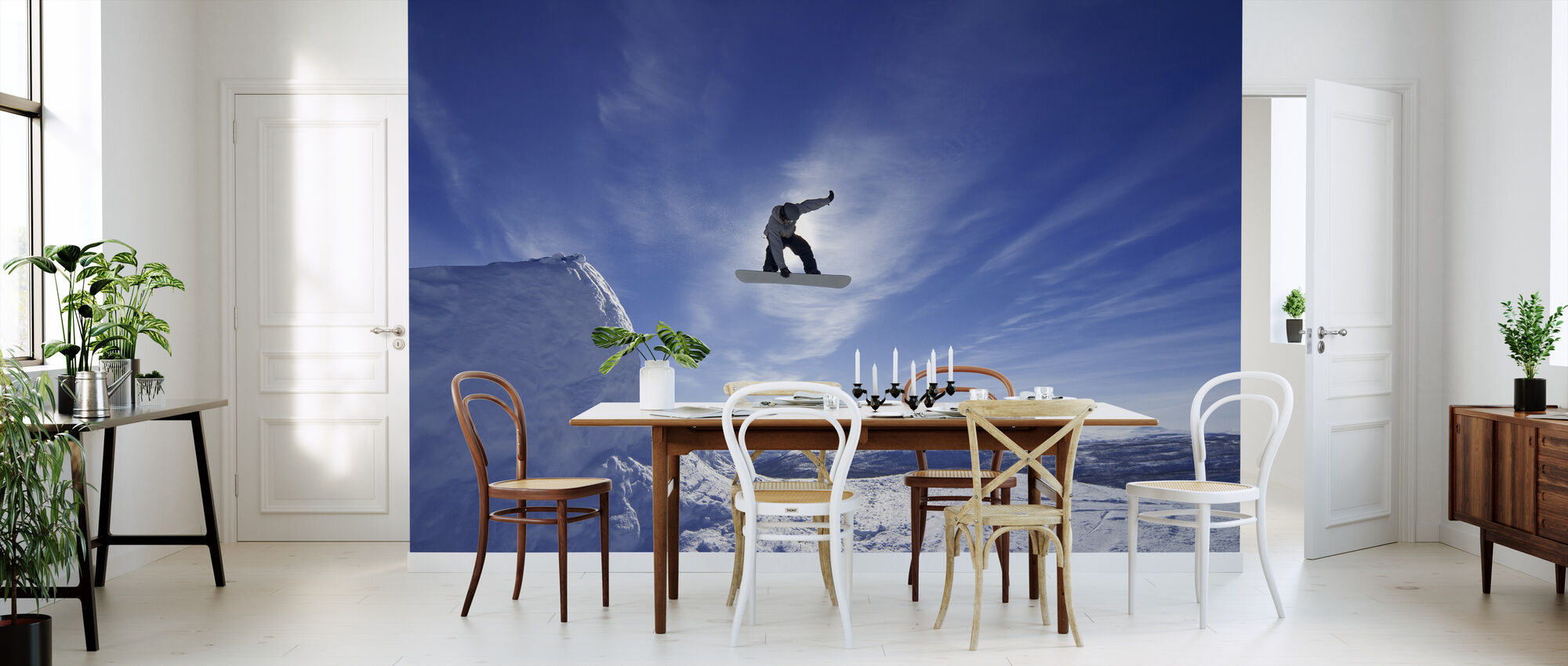 Snowboard Big Air Jump - Wallpaper - Kitchen