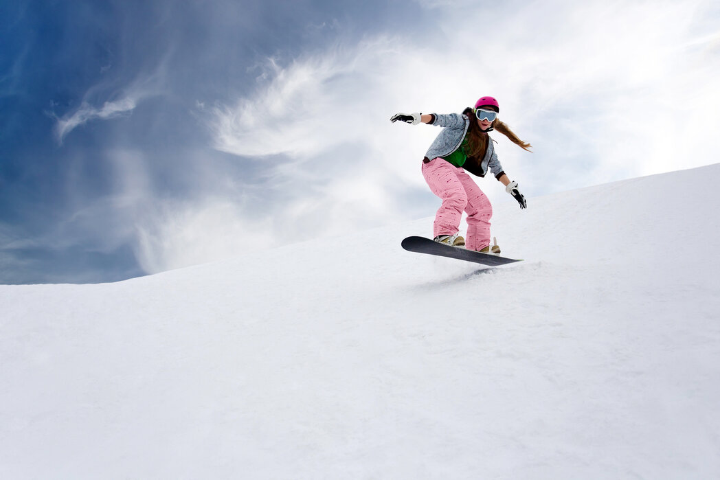 Snowboard Rider Affordable Wall Mural Photowall