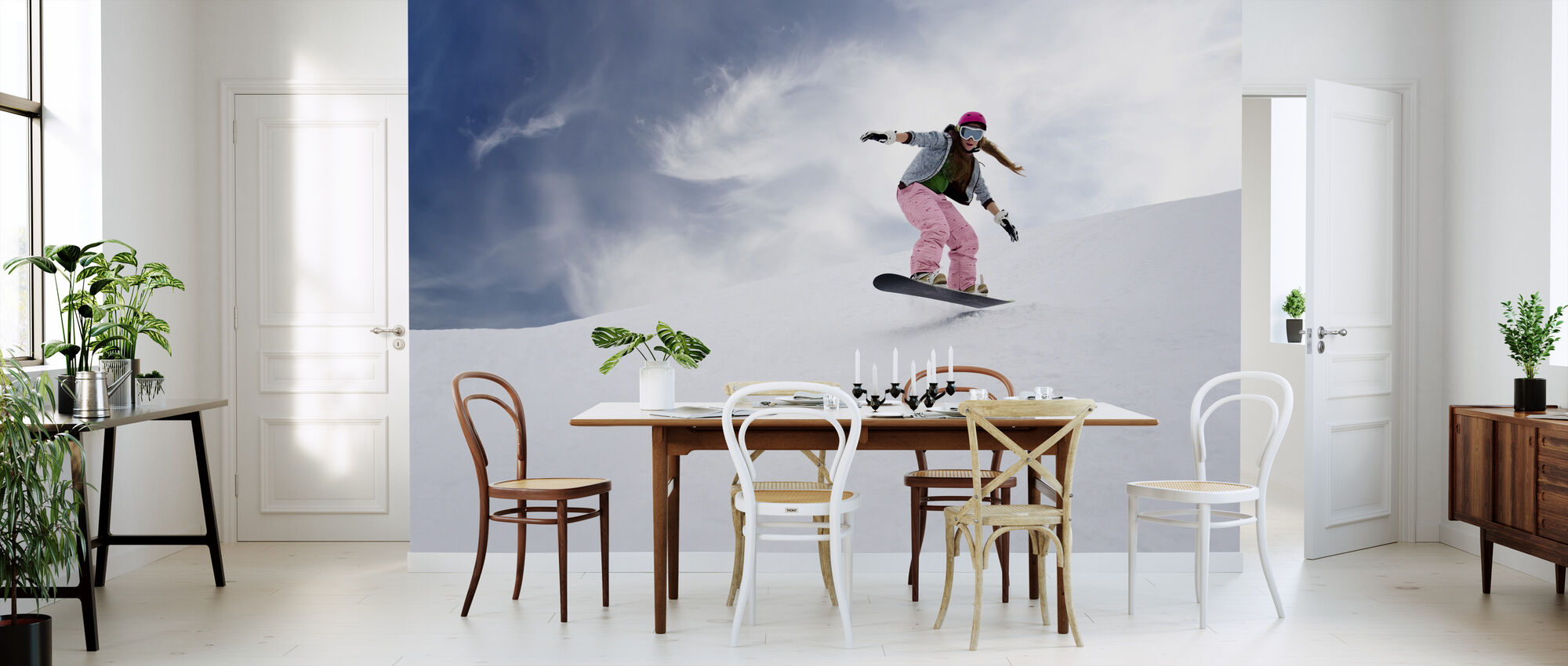 Snowboard Rider - Wallpaper - Kitchen