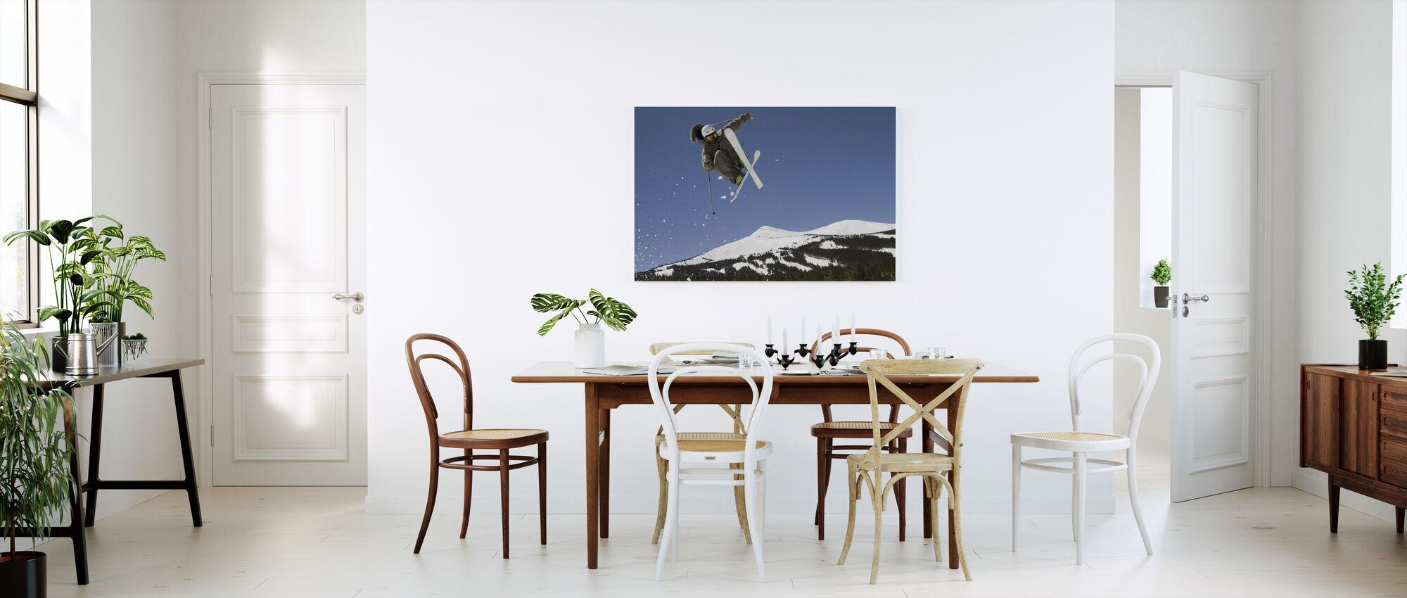Superpipe Skier - Canvas print - Kitchen