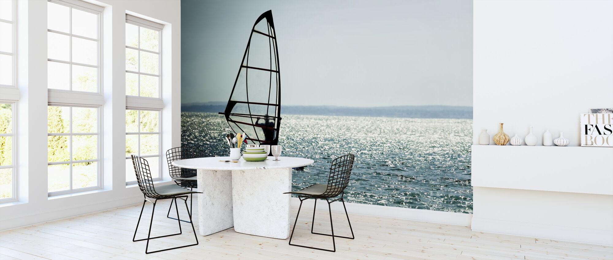 Windsurfer Panorama - Wallpaper - Kitchen