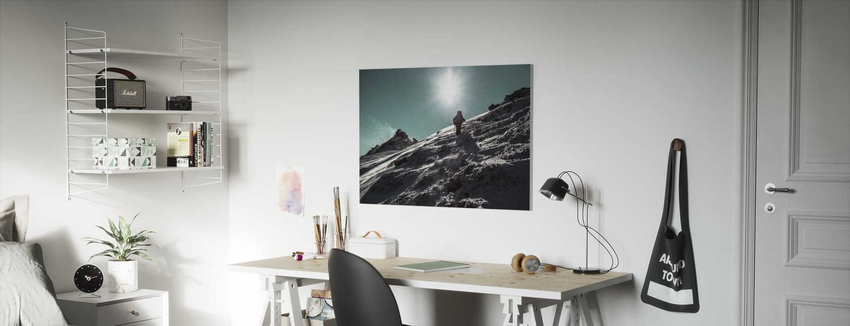 Winter Wandeling - Canvas print - Kinderkamer