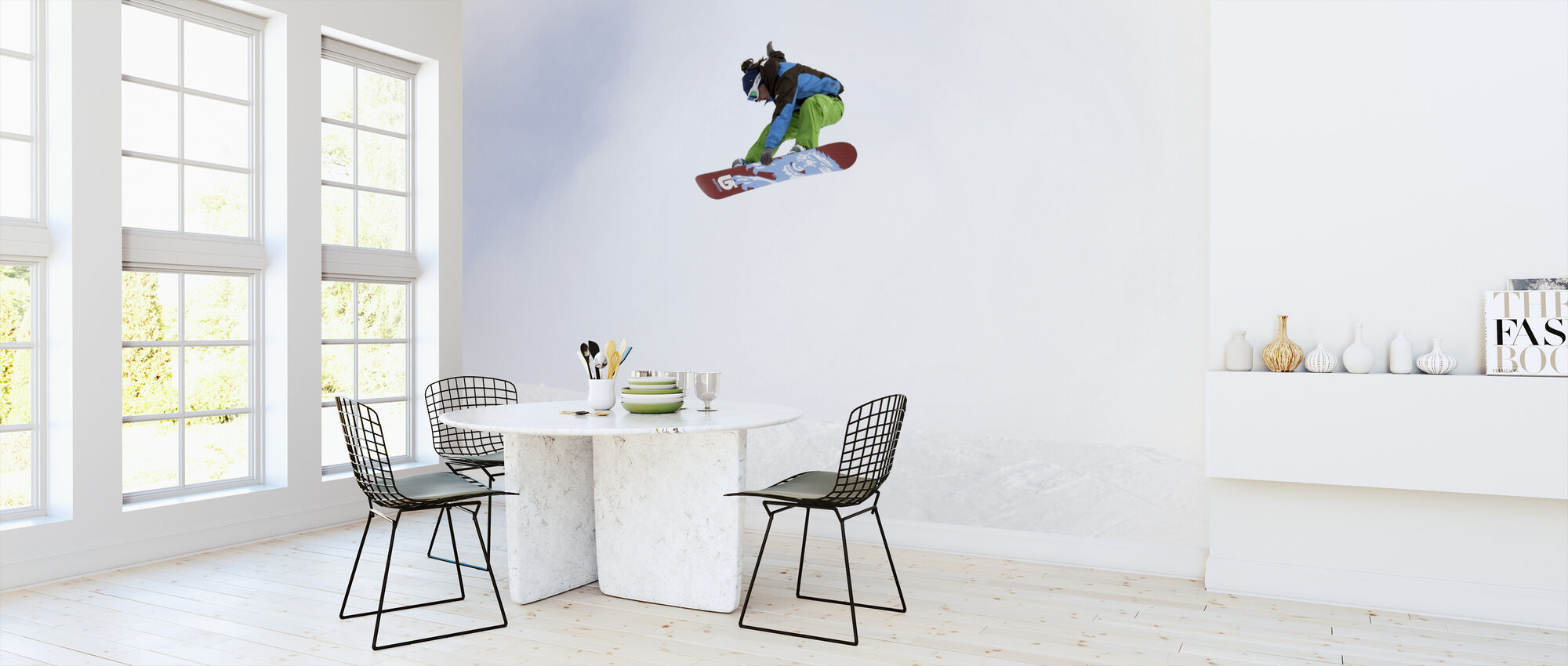 High Air Snowboarding - Wallpaper - Kitchen