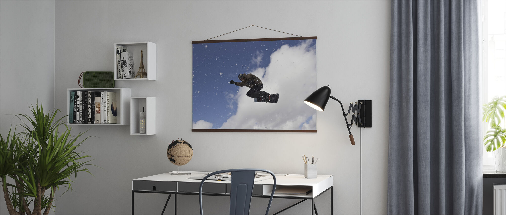 Snowflake Jump - Poster - Office