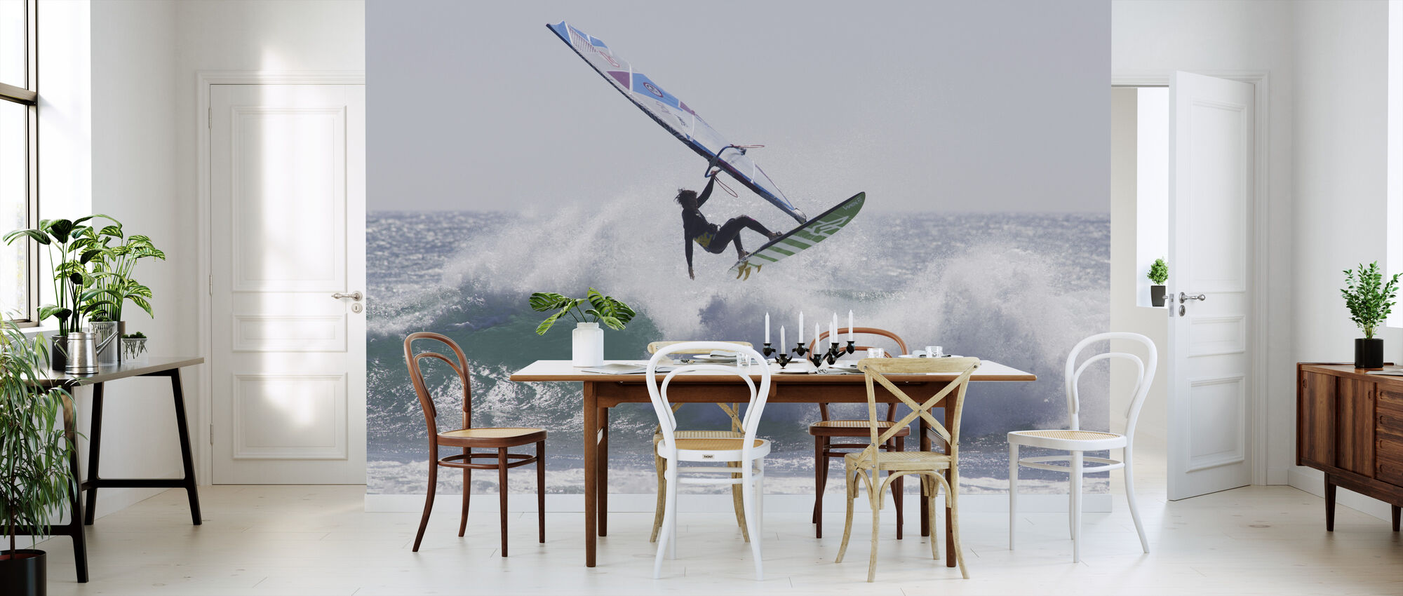 Windsurfing Jump - Wallpaper - Kitchen