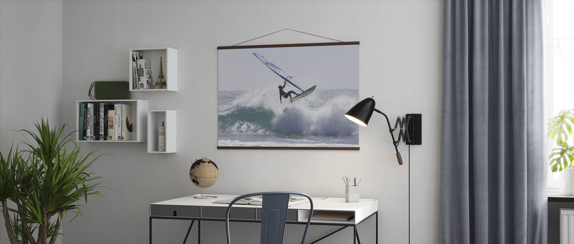 Windsurfen Jump - Poster - Kantoor
