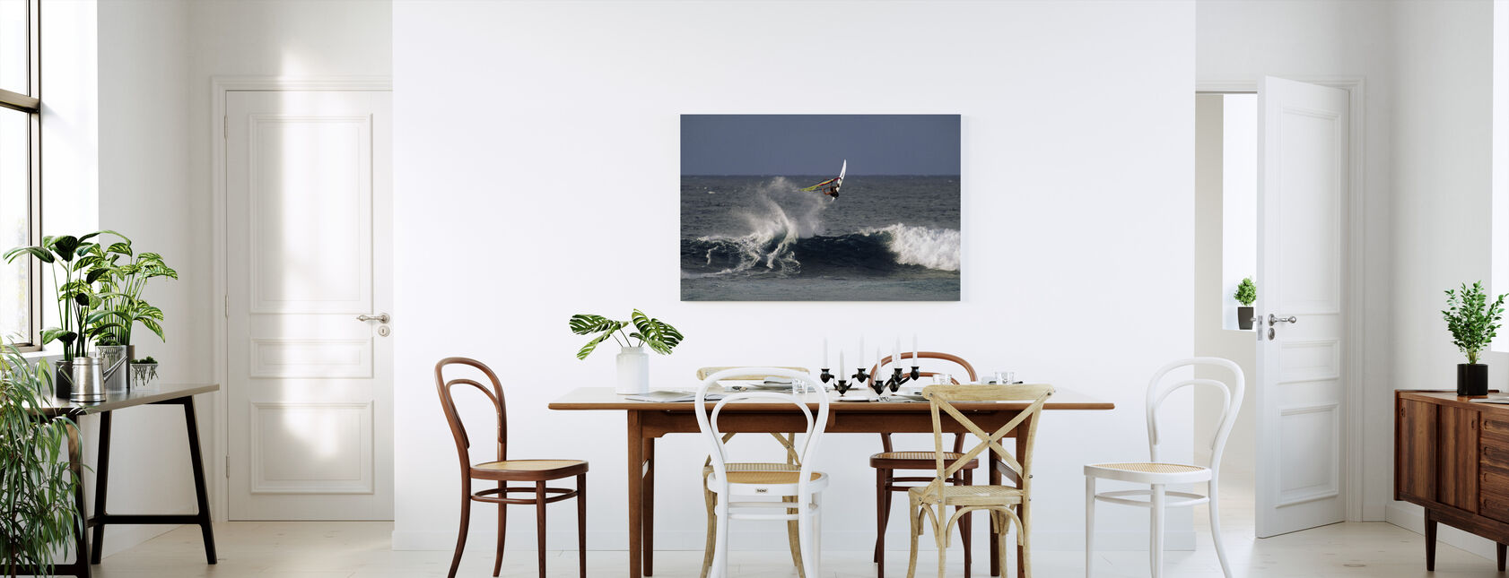 Windsurfer at Hookipa Beach Park - Canvas print - Kitchen
