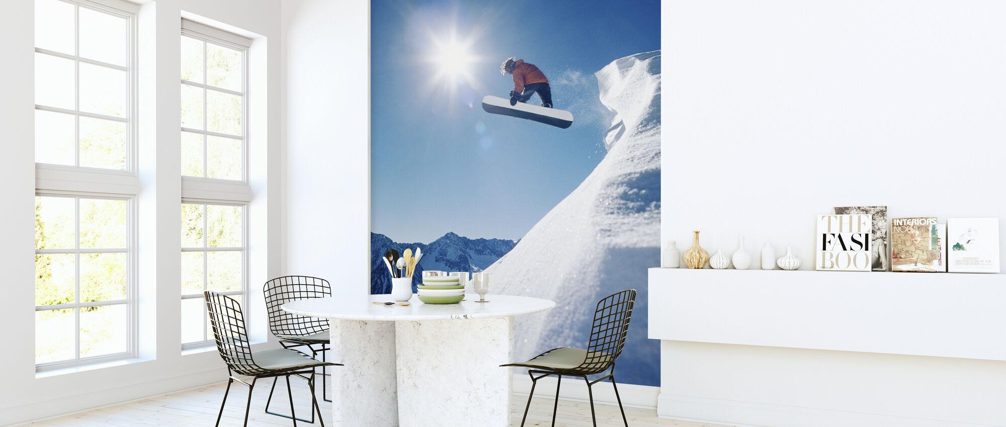 Snowboard Grab - Tapet - Kjøkken