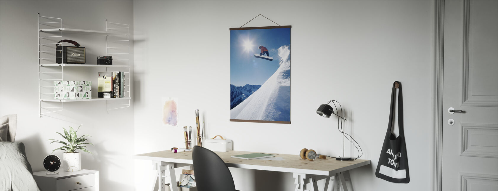 Snowboard Grab - Poster - Office
