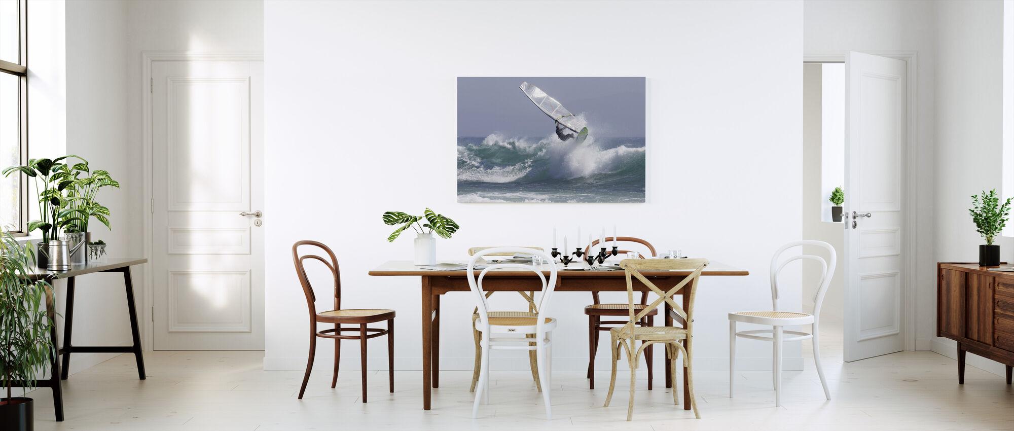Windsurfing - Canvas print - Kitchen