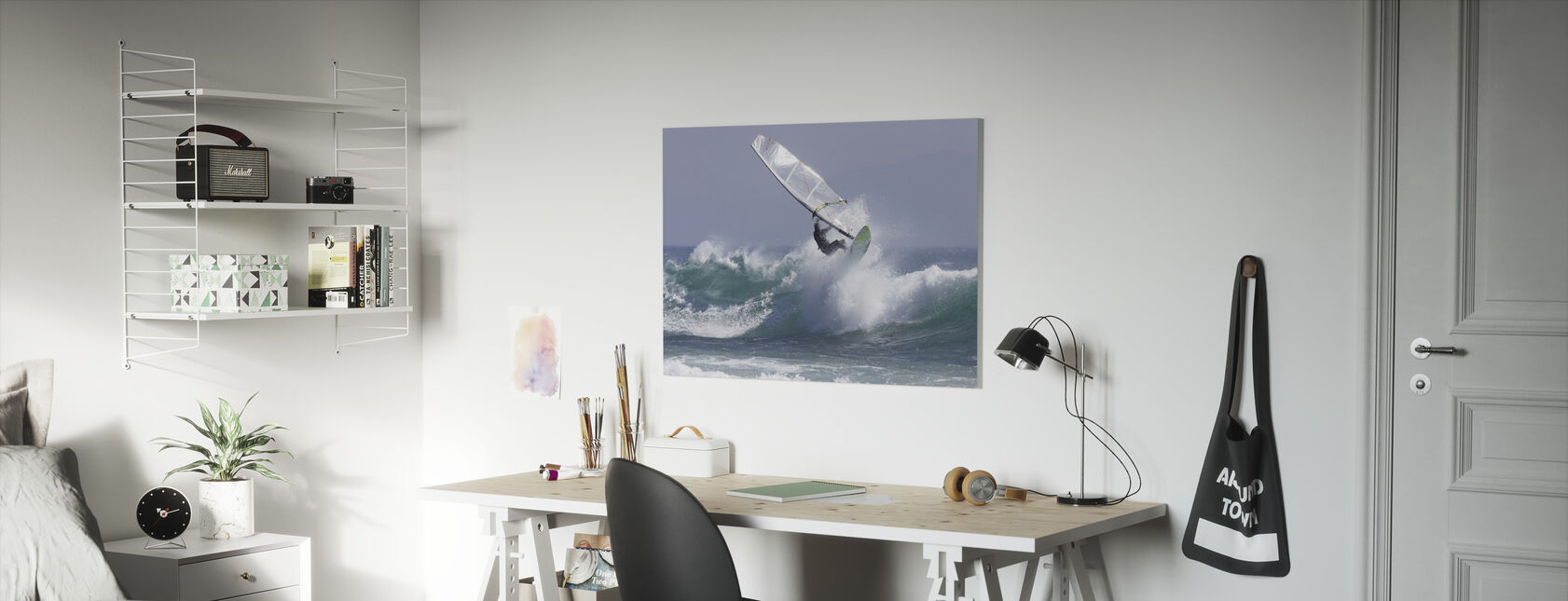 Windsurfen - Leinwandbild - Kinderzimmer