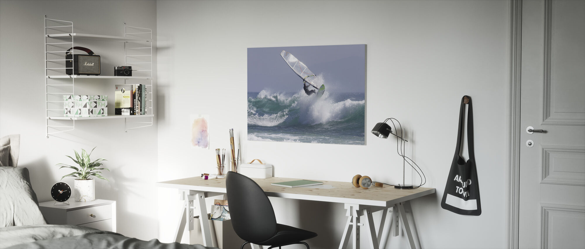Windsurfing - Canvas print - Kids Room